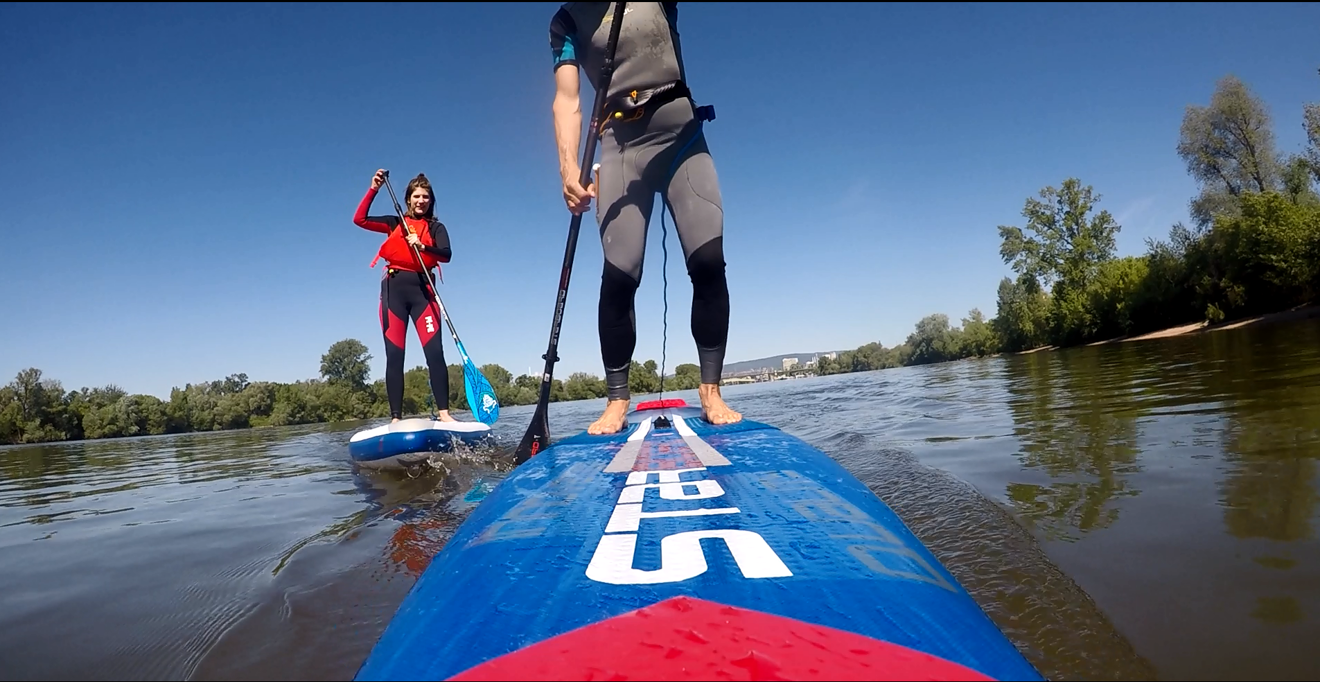 Stand Up Paddling Mainz