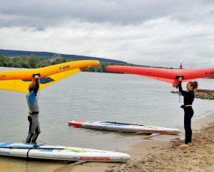 Wingfoiling Kurs bei SUP Mainz